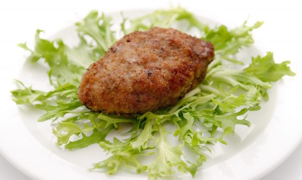 Котлета рубленая из говядины