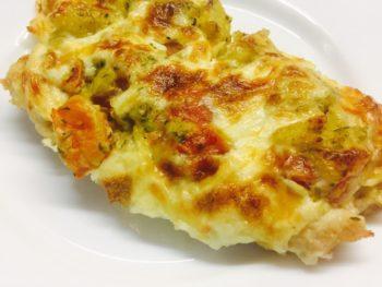 СВИНИНА с картофелем под сыром